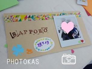 海外のおきゃくさまもアルバムカフェ20180729ヨドバシカメラ札幌